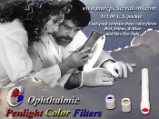 Ophthalmic Penlight Color Filters (limited supply)